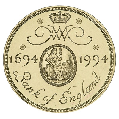 1994 £2 Coin - Bank of England Tercentenary